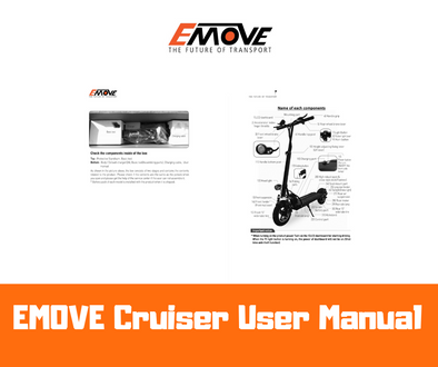 USER MANUAL for EMOVE Cruiser Electric Scooter