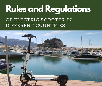 Rules and Regulations of Electric Scooter in Different Countries