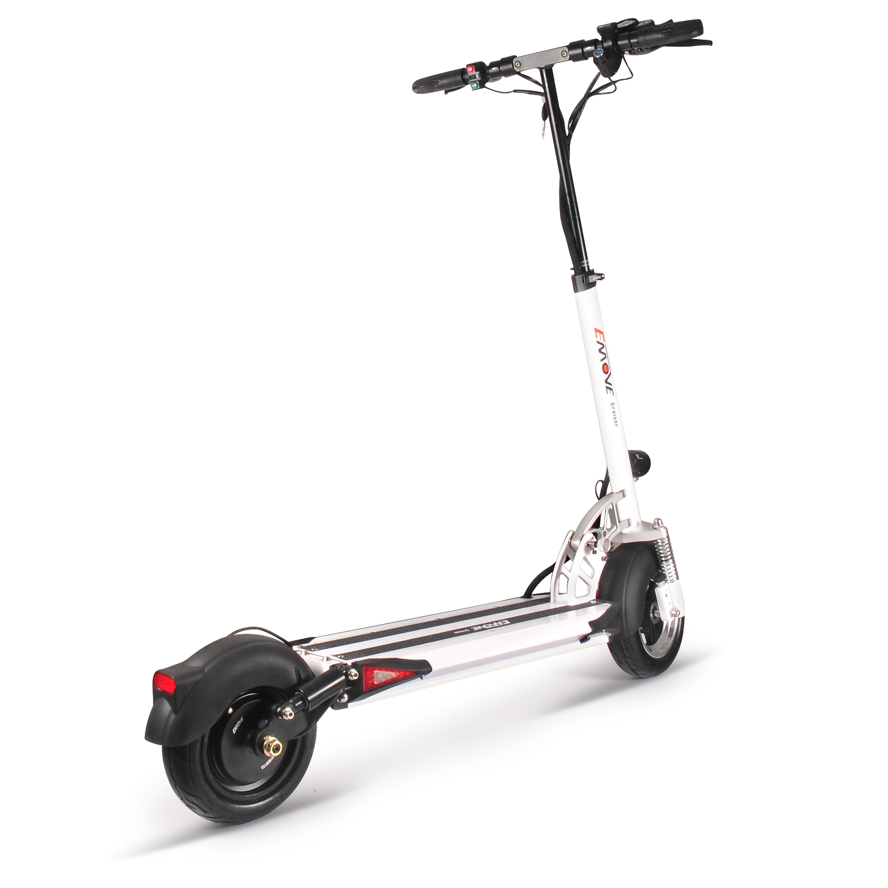 EMOVE Cruiser Electric Scooter - White Side View