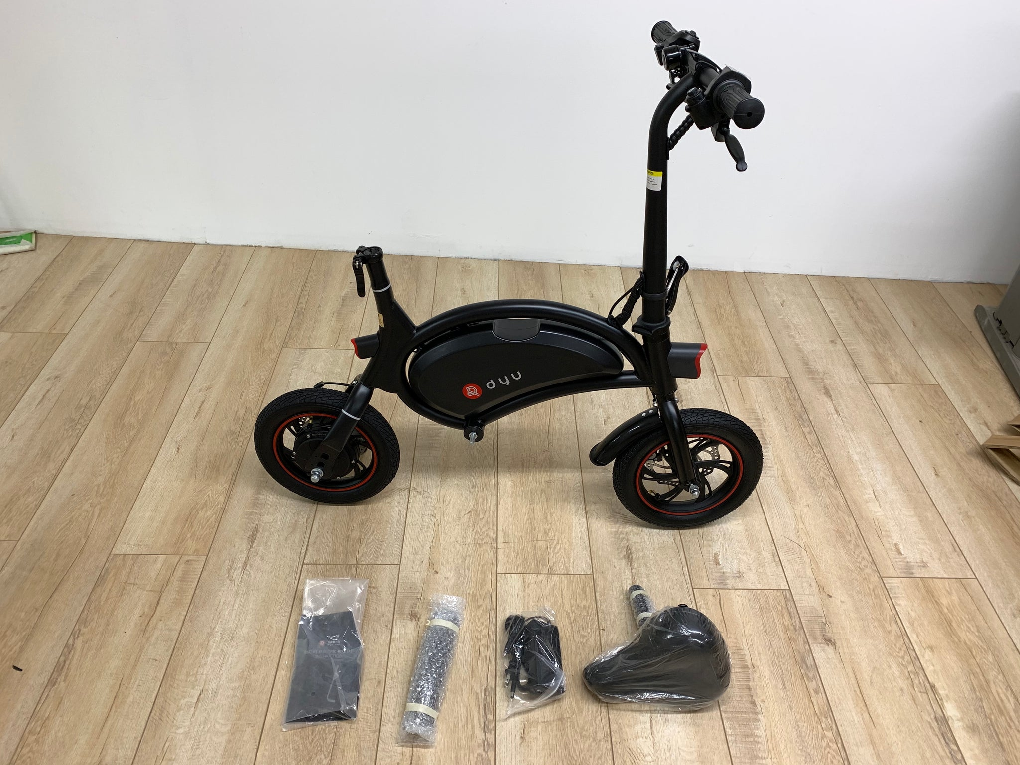 DYU Seated Scooter Package