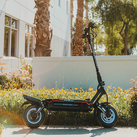 Dualtron Storm electric scooter, full view