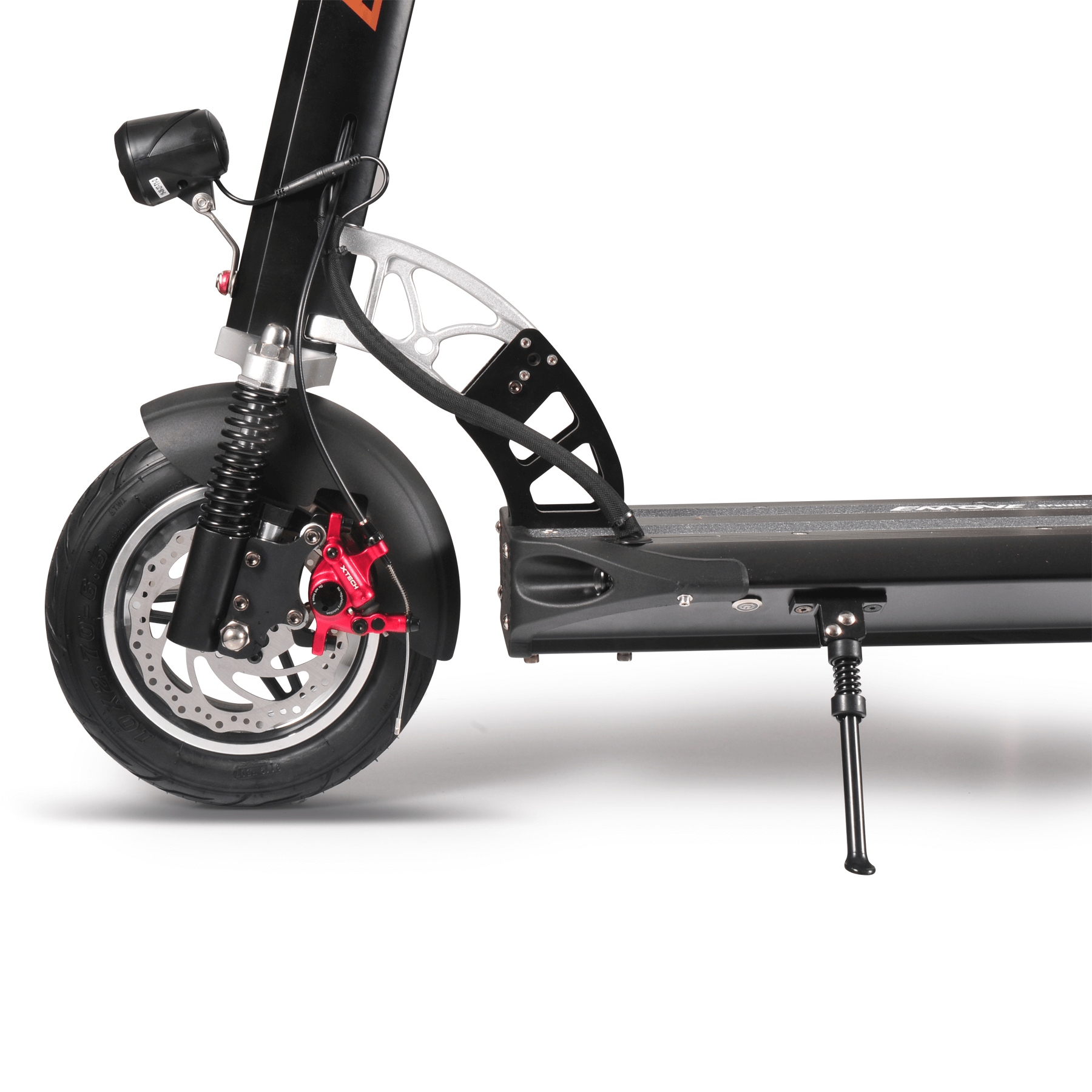 EMOVE Cruiser Black - Rear Wheel Side View with Hydraulic Brakes