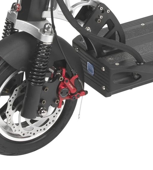XTECH Brake on the EMOVE Cruiser - Front