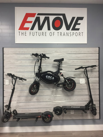 Florida Test Ride Center for EMOVE