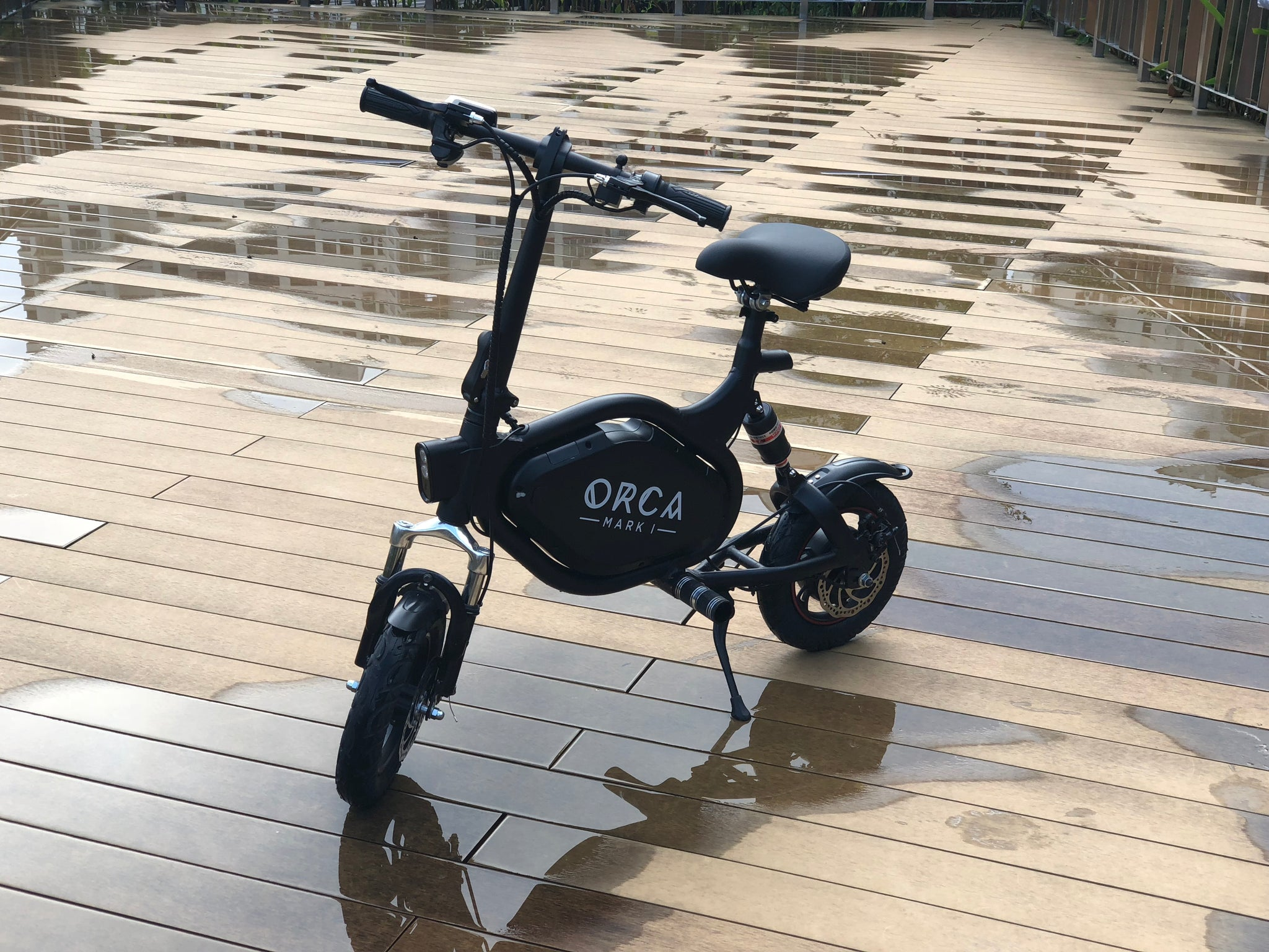 orca mark I electric scooter IP54 waterproof rating