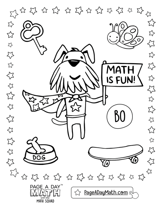 Bonus Series 3 ~ ADDITION & MATH HANDWRITING (Part 2) - Page A Day Math with the Math Squad