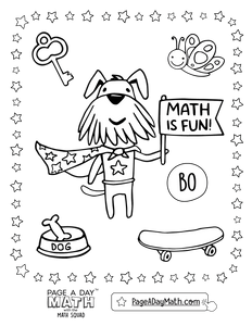 Bonus Series 5 ~ SUBTRACTION & COUNTING - Page A Day Math with the Math Squad