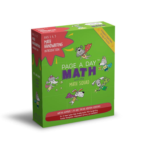 MATH HANDWRITING INTRODUCTION, 10 Books (PRINT)