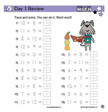 Load image into Gallery viewer, Review Book Bundle Includes PreK, Addition, Subtraction, Multiplication, Division