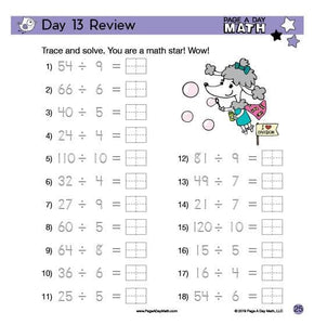 Review Book Bundle Includes PreK, Addition, Subtraction, Multiplication, Division