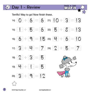 Review Book: Pre-K Math Starter