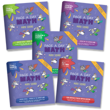 Load image into Gallery viewer, BUNDLE | 5 Math Review Books for Addition Subtraction Multiplication and Division Fluency