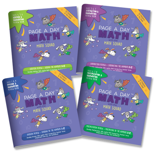 BUNDLE | Review Books Addition Subtraction Multiplication & Division Fluency