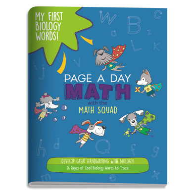 My First Biology Words Handwriting Book (ages 3+)