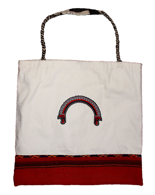 Land R, Peruvian Made, Handwoven Tote Bags, Trenzada