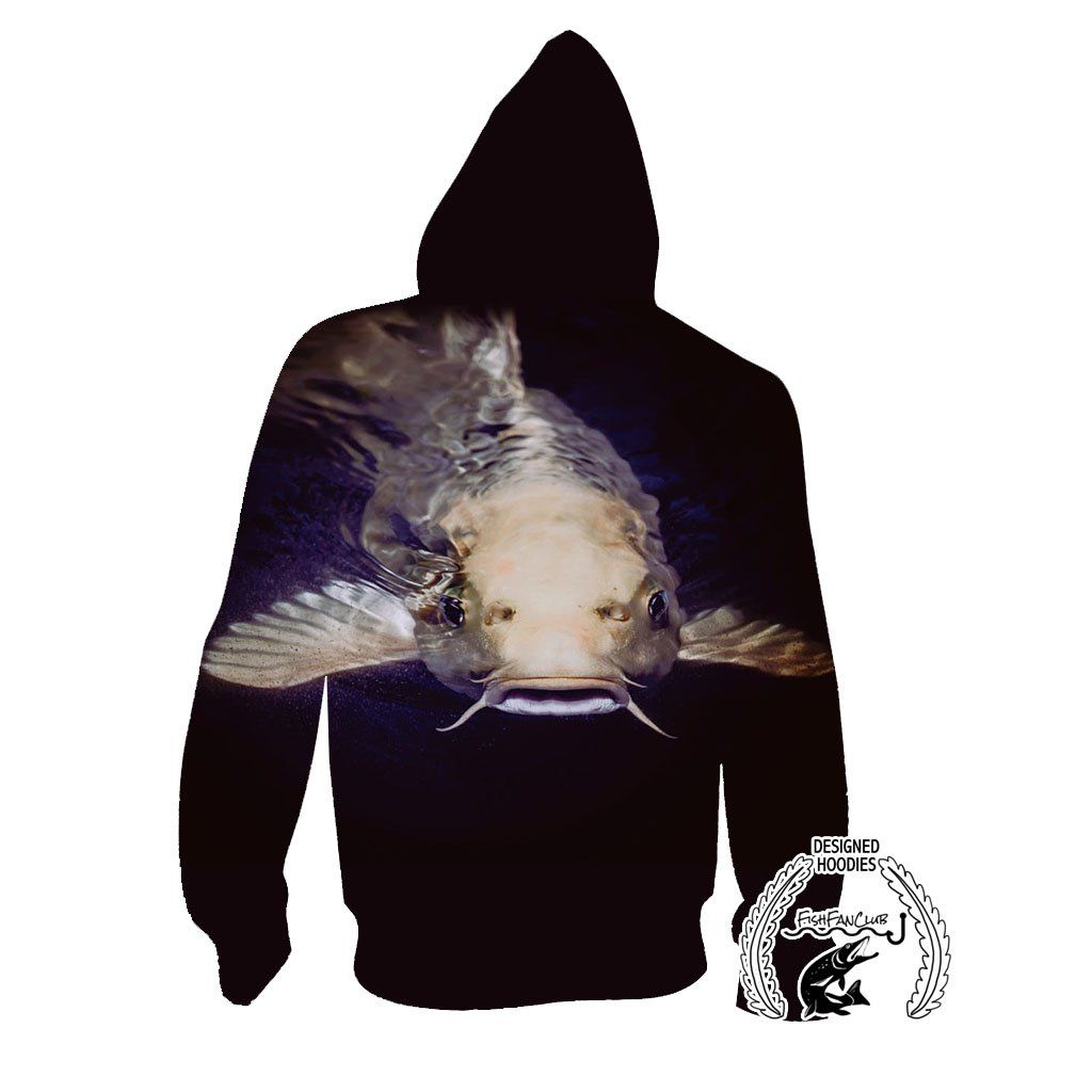 Fishing Hoodies - 3D Print Unisex Pull Over Hoodies - Catfish fishfanclub