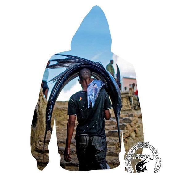 Fishing Hoodies - 3D Print Unisex Pull Over Hoodies - Billfish fishfanclub