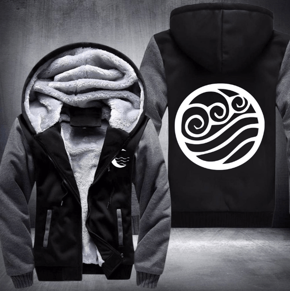 Avatar The Last Airbender Water Tribe Fleece Winter Jacket