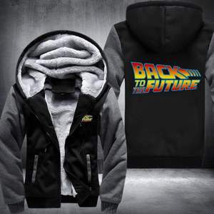 Back To The Future Fleece Winter Jacket