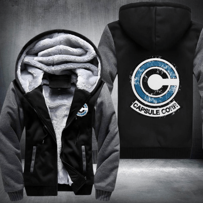 Capsule Corp Fleece Winter Jacket
