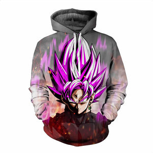 Dragon Ball Z Hoodies - Super Saiyan Goku C Pull Over Hoodie - 3D Hoodies Clothing