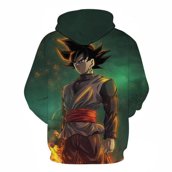 Dragon Ball Z Hoodies - Super Saiyan Goku A Pull Over Hoodie - 3D Hoodies Clothing