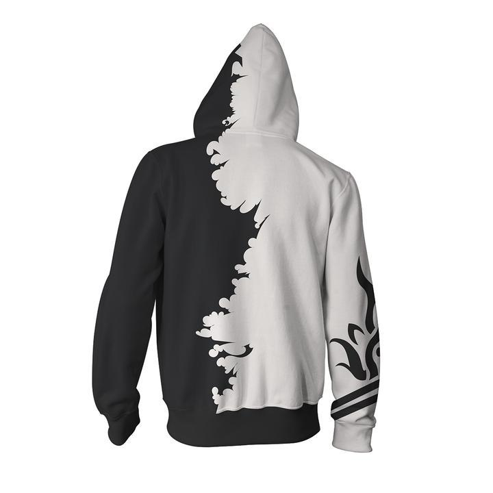 Fairy Tail Hoodies - Fairy Tail Gray Zip Up Hoodie