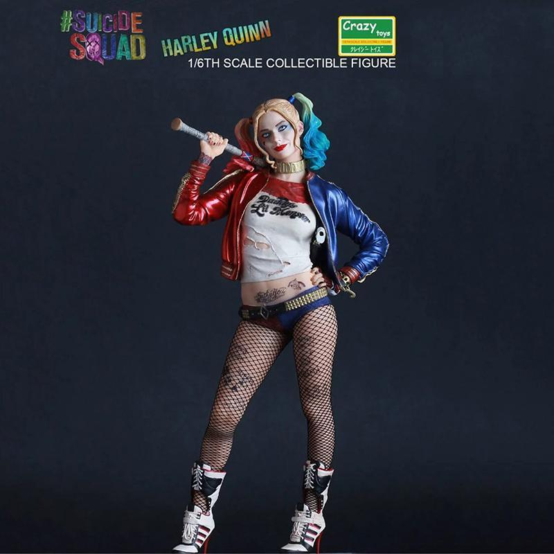 Harley Quinn Statue And Joker Statue, DC Comics - Crazy Toys Figure And Statue