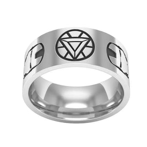 Iron Man Tungsten Ring - Custom Laser Engraved