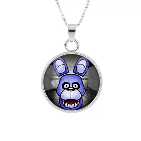 FNAF Necklace Mangle Foxy Bonnie Chica Pendant