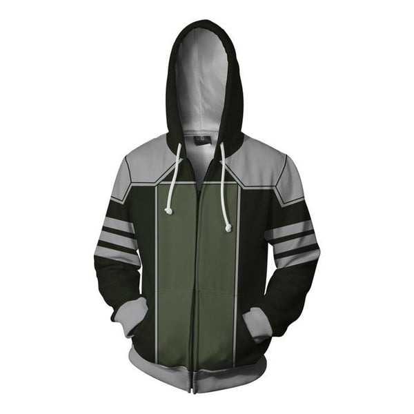 The Legend of Korra Hoodies - Kuvira Zip Up Hoodie