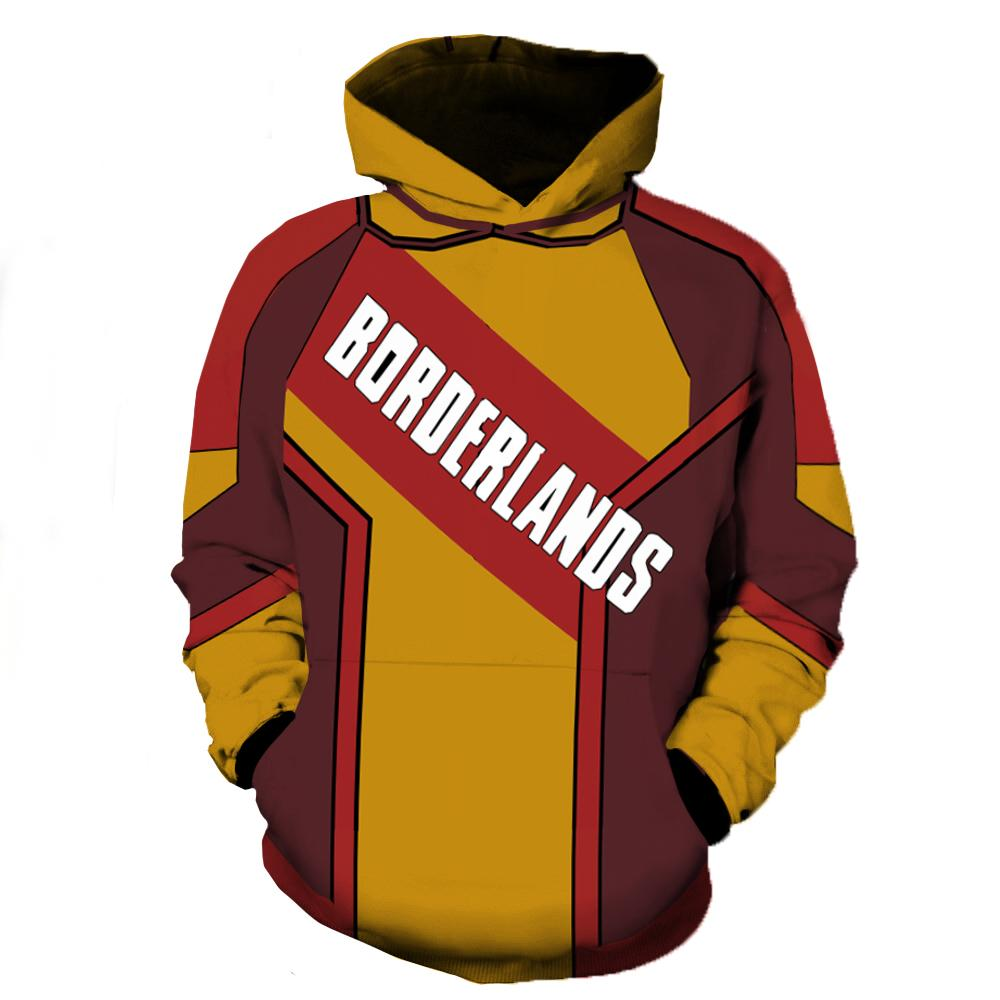 Borderlands Hoodies - Borderlands Zip Up Hoodie