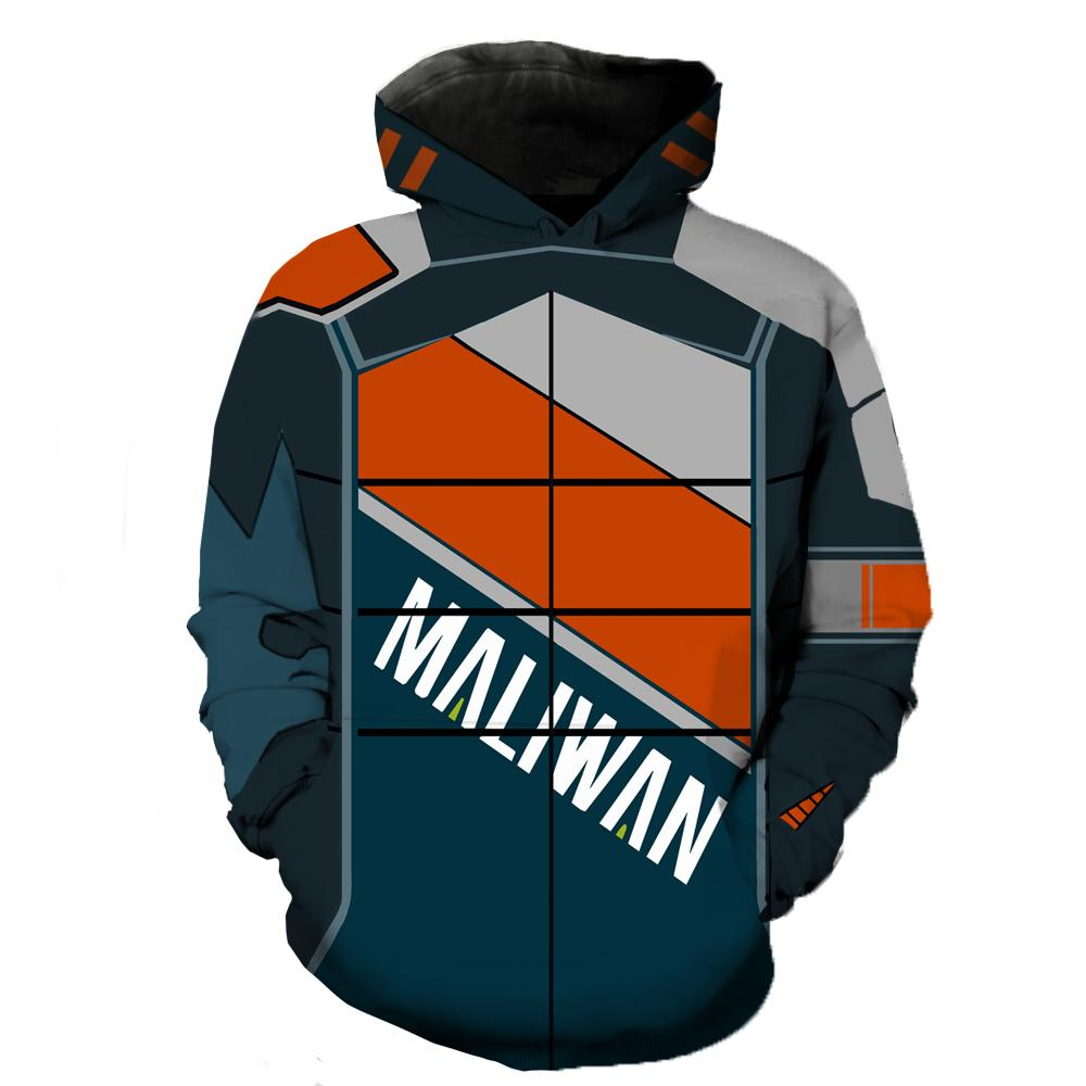 Borderlands Hoodies - Borderlands Maliwan 1 Hoodie