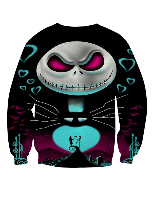 Jack Skellington Hoodies - Nightmare Before Christmas sweatshirt
