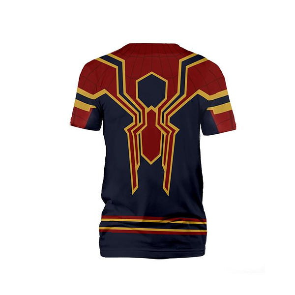 Spiderman T-Shirt - Homecoming Iron Spider Man T-Shirt