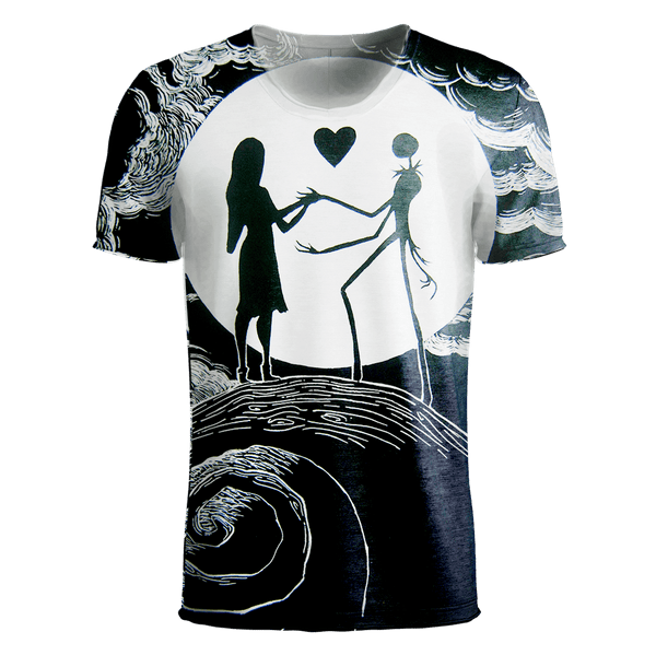 Jack Skellington T-Shirt - Jack Skellington 3D Clothing V19