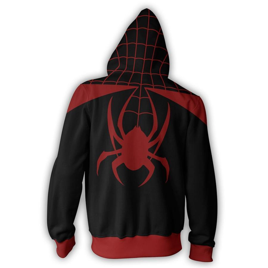 Spiderman Hoodies - Ultimate Spider Man Zip Up Hoodie