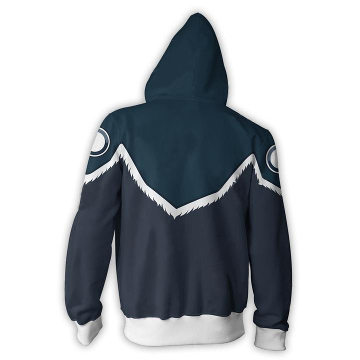 Avatar The Last Airbender Hoodies - Sokka Armor Zip Up Hoodie