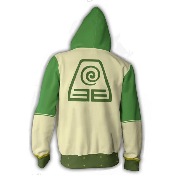 Avatar The Last Airbender Hoodies - Toph Zip Up Hoodie