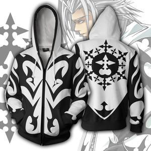 Kingdom Hearts Hoodies - Xemnas Zip Up Hoodie