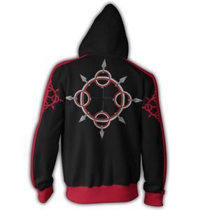 Kingdom Hearts Hoodies - Axel Zip Up Hoodie