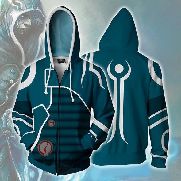 Magic: The Gathering Hoodies - Jace Zip Up Hoodie
