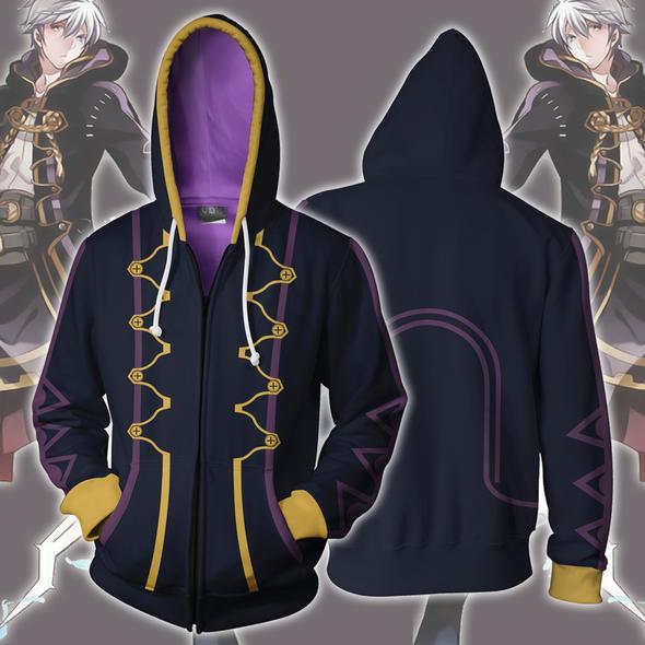 Fire Emblem Hoodies - Fire Emblem Robin Zip Up Hoodie
