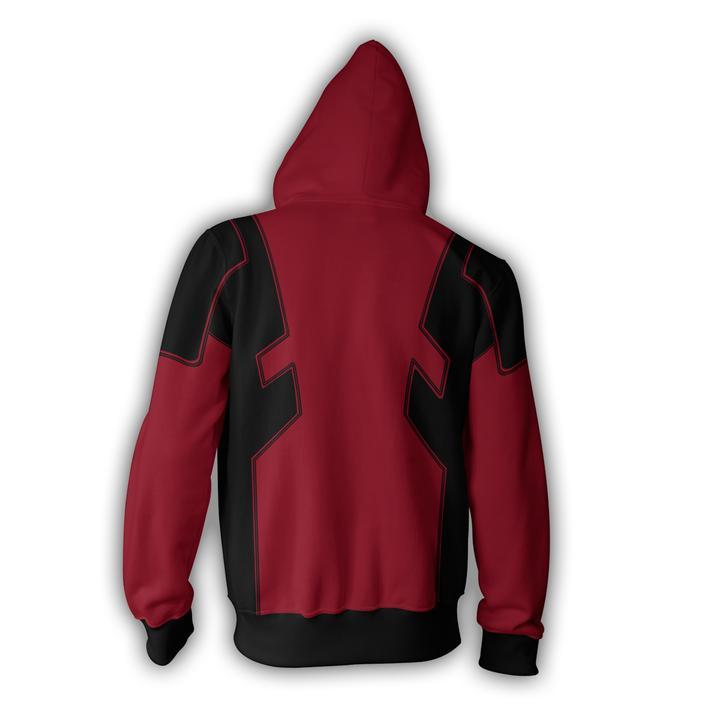 Deadpool Hoodies - Deadpool Zip Up Hoodie
