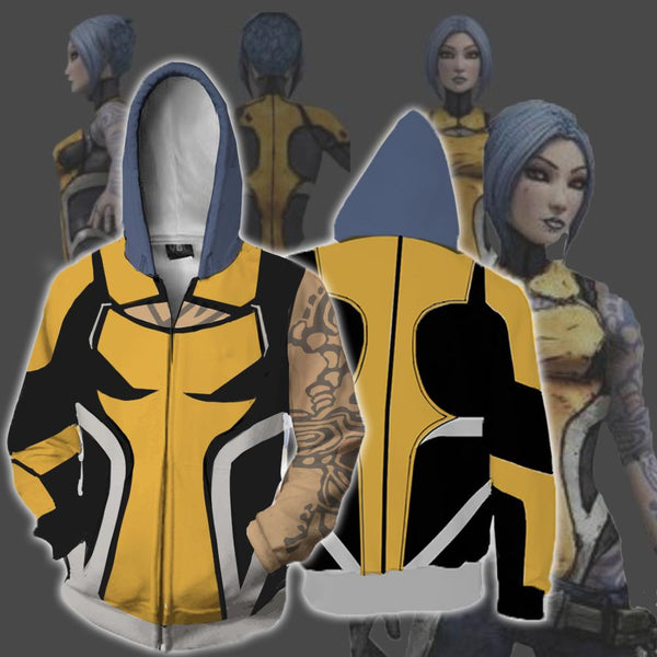 Borderlands Hoodies - Borderlands 2 Maya Zip Up Hoodie