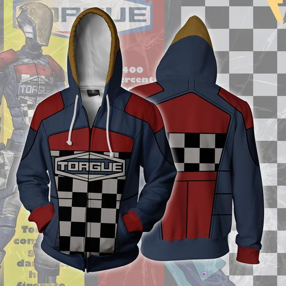 Borderlands Hoodies - Borderlands Torgue Zip Up Hoodie