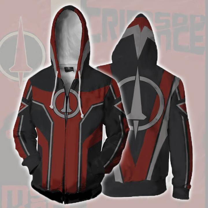 Borderlands Hoodies - Borderlands Crimson Lance Zip Up Hoodie