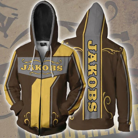 Borderlands Hoodies - Borderlands Jakobs Zip Up Hoodie