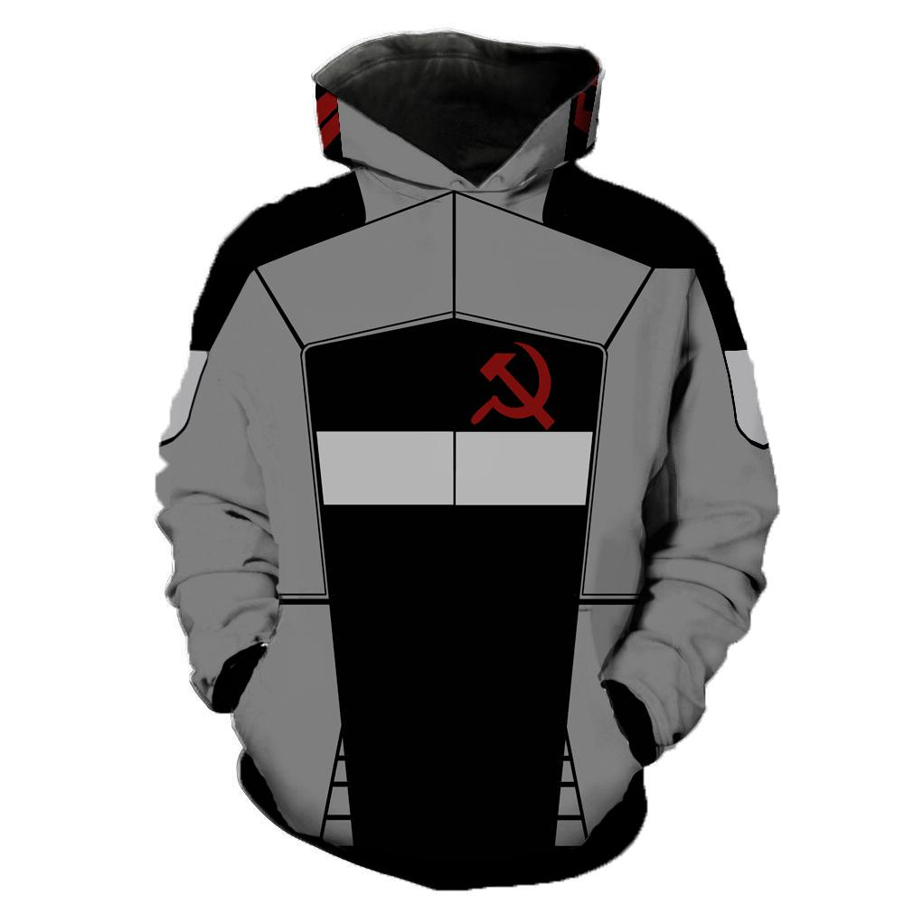Borderlands Hoodies - Borderlands Vladof Sickle Hoodie