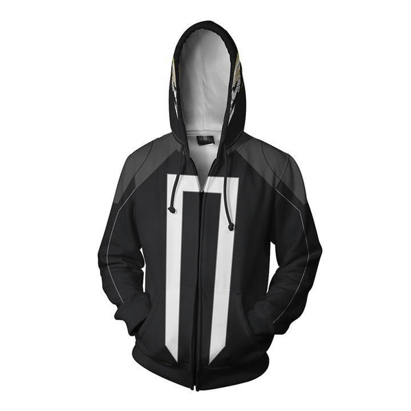 Ghost Rider Hoodies - Ghost Rider Cosplay Zip Up Hoodie